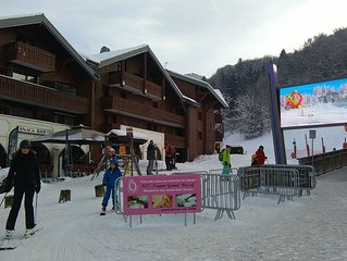 Well Located Ski Apartment, Next To The Bubble Lift  - Morillon/Grand Massif.