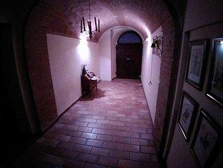 Residenza storica con giardino vicina ad Assisi