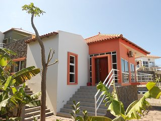 Moutainside Two Bed Detached Villa With Views Of The Atlantic Ocean With Pool