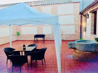 Casa rústica/Museo + Villa 'La Almazara de Alcabón'