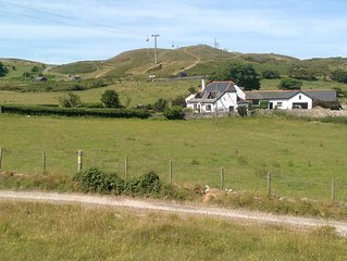 Exceptional rural and sea views in a tranquil and relaxing setting.