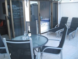 Spacious 2 bedroom apartment with large balcony in Puerto Rico Gran Canaria