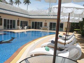 Phuket: Luxueuse Villa avec tres belle piscine et jacuzzi
