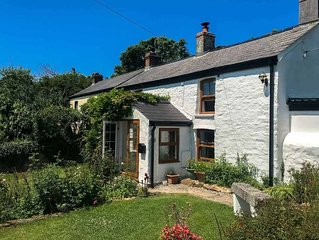 A most adorable cottage, situated in a wonderful peaceful location close to the