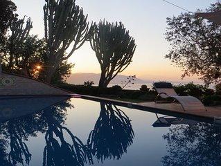 Villa  w/ pool and stunning views in Vietri sul Mare