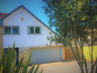 Family and dog friendly modern coastal property with stunning ocean views