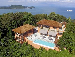 FREE $900 Daily Luxury Pack | 8-Bed 360º Seaview Villa | Phukets No.1 Location