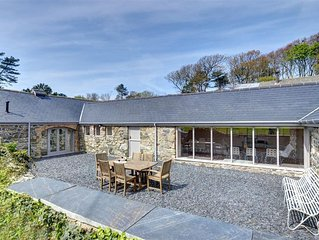 With all the accommodation on the ground floor, the Cow Shed is perfect for thos