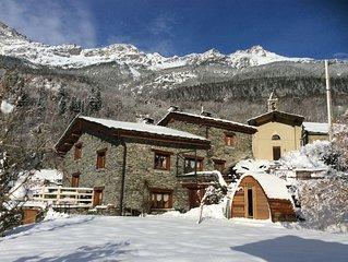 LE CHALET DE LA VANOISE 210M2 Proche d' Orelle-ValThorens et des stations de ski