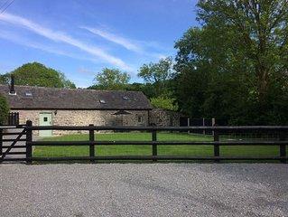 The Bakery - stone cottage near Llanrhystud, between Aberystwyth & Aberaeron.
