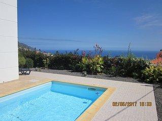 Calheta - CASA IVA 3 bedroom, 3 bathroom House with swimming pool and sea views