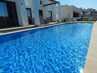 5* luxury 4 bedroom,4 bath villa with 12m fully heated pool.