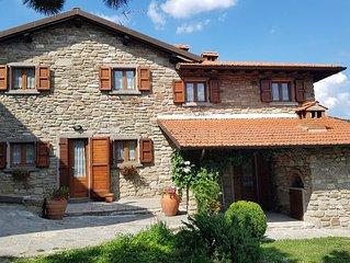 Casa Vacanze La Sala Vecchia immersa nel Parco Nazionale Foreste Casentinesi