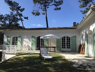 Villa Cap-ferret - La Vigne (entre bassin et océan) 8 personnes