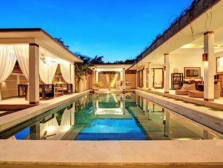 ❤️ SEMINYAK - 6 bedrooms Villa - 2 swimming pool - 2 jacuzzi - 2 kitchen