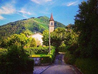 Porretta Holiday Home: casa vacanze a Porretta Terme con giardino panoramico