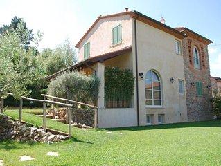 Casa vacanze in Toscana con giardino piscina e wifi
