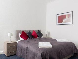 Large Two Bedroom Flat, Pleasure Beach Apartments