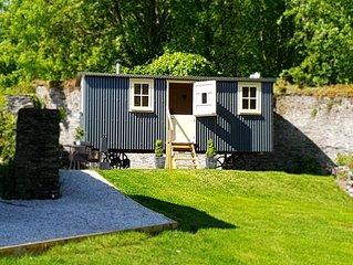 Shepherds Hut in 1.3 ache gardens  in Torpoint cornwall