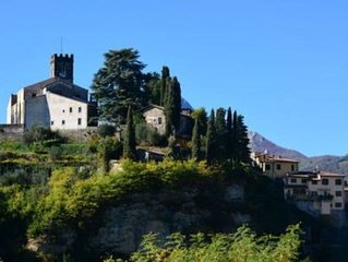 Breathtaking View over Barga's cathedral