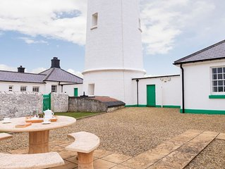 Ariel a lighthouse keepers cottage with accommodation for up to five guests.