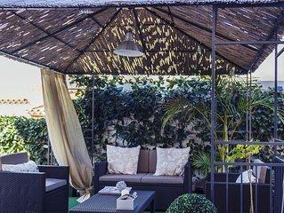 Villa Campo de Golf Costa adeje con piscina climatizada y servicios especiales