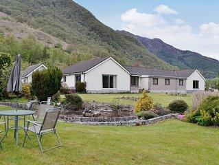 4 bedroom accommodation in Ballachulish, near Glencoe