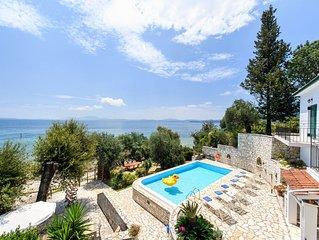 Villa Alexia at Nissaki, Corfu
