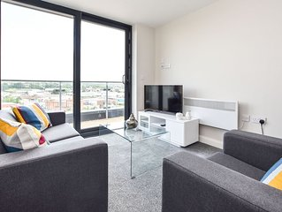 Leeds 2 Bed Penthouse With Real Star Quality