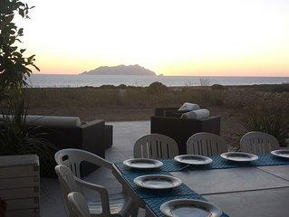 Villa vista mare e  Marettimo