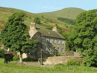 Large Country House sleeps 14, and Steading cottage sleeps 6,  20 combined.