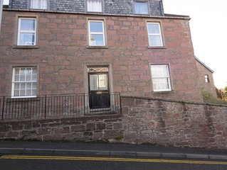 The Gallery Flat is situated in Kirriemuir town centre