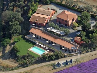 Modern Farmhouse in Montalto di Castro with Swimming Pool