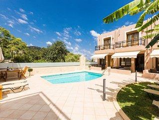 A super 3 level villa perfect for a family vacation experien in Rethymnon, Crete