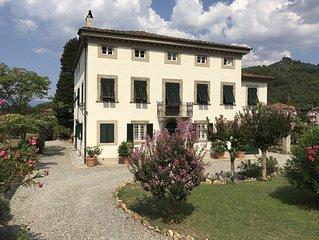 Villa Carrara, historic mansion just three miles from Lucca.