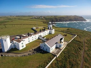 Round Island - a four bedroom, three bathroom cottage with sea views. Enquire no