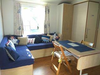 Mobil Home tout confort-3Ch-Parc Residentiel de Loisirs- Bassin d'Arcachon