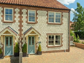 A newly built cottage situated just off the Norfolk coastal path.
