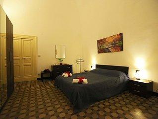 Appartamento zona centrale Taranto,tre camere matrimoniali 8 letti,vicino mare