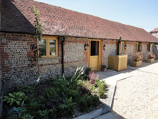150 Year Old Converted Sussex Barn Surrounded By Unspoilt Countryside