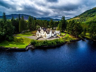 Lochside House, Loch Katrine, in Loch Lomond and Trossachs National Park