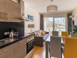 Appartement 2 pièces cosy pour 4 au coeur de Biarritz!