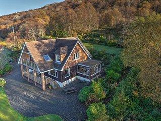 Ardfyne on Loch Fyne Very spacious 4 bath lodge style home in stunning setting