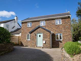 NEW!!  Stunning, detached, contemporary cottage in village close to Padstow