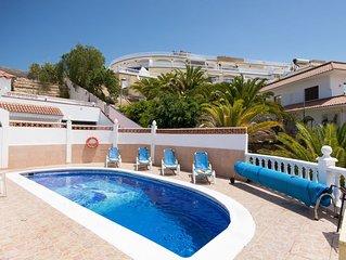 Beautiful 2 Bedroom Villa. Las Americas. Central Location. Private Heated Pool.