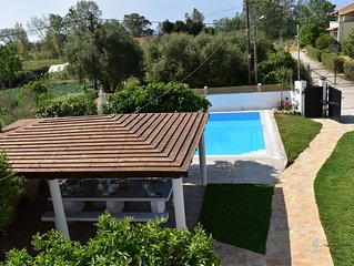 country hoyse with sea views