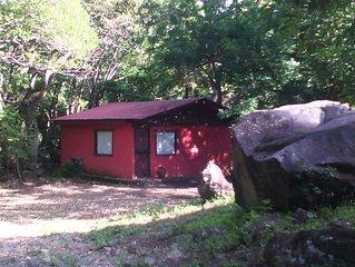 The Bri Bri House at Juan Manuel National Park, Rustic but nice