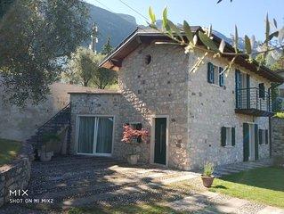 Una villa accogliente e confortevole sul lago di Garda