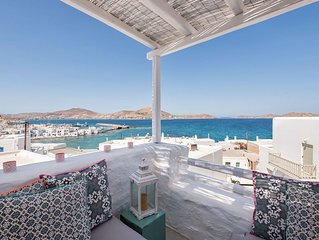 Naousa House with Sea Views