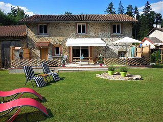 Tranquil haven in the Perigord National Park - stunning detached renovated barn